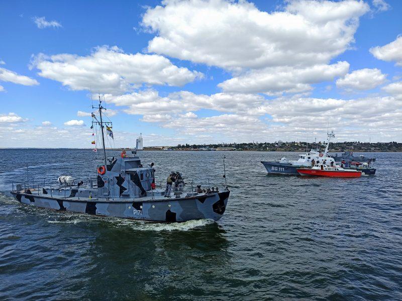 На Николаевщине прошли учения ВМС по охране пунктов базирования (ФОТО)