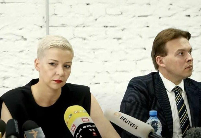 Беларусь: оппозиционерка Мария Колесникова получила 11 лет колонии, ее соратник Максим Знак — 10