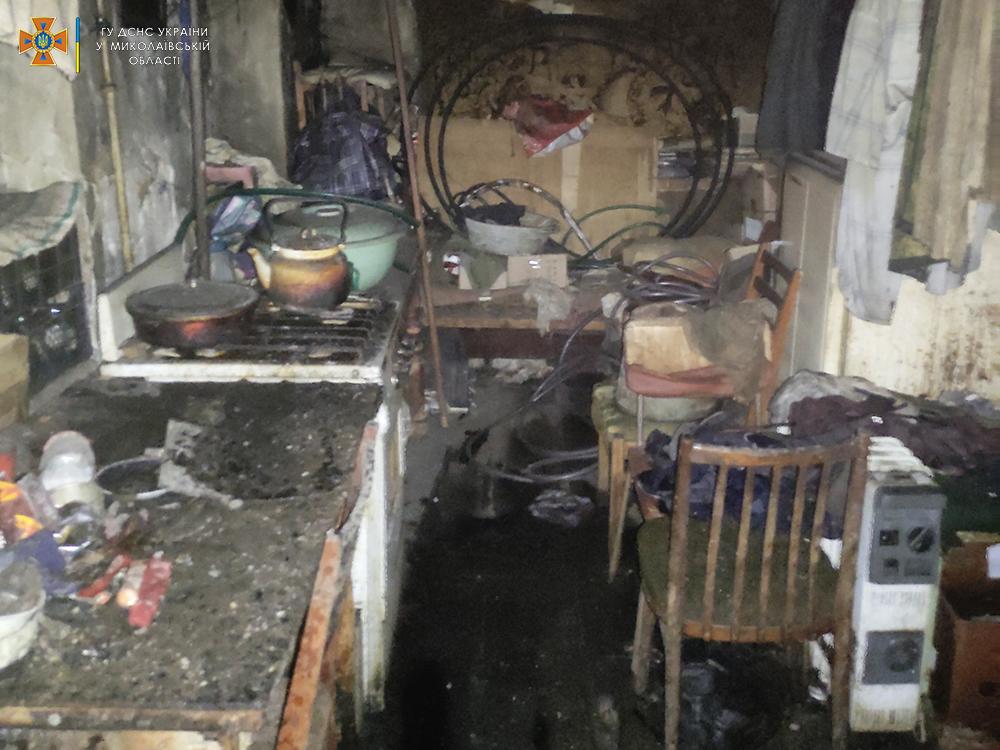 Жилые дома и хозпостройки: что тушили спасатели Николаевщины за сутки (ФОТО) 1