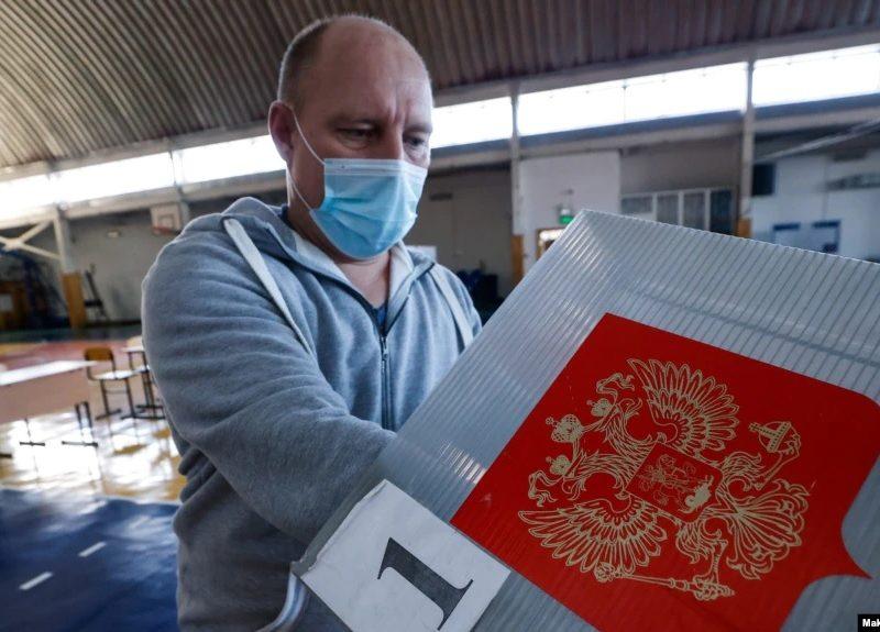 В РФ начались выборы в ГосДуму, на них разрешено электронное голосование в отдельных городах. В том числе — в оккупированном Севастополе