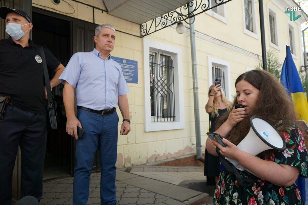 В Николаеве требовали справедливого наказания для застрелившего собаку на рынке «Юлиана» (ФОТО, ВИДЕО) 17