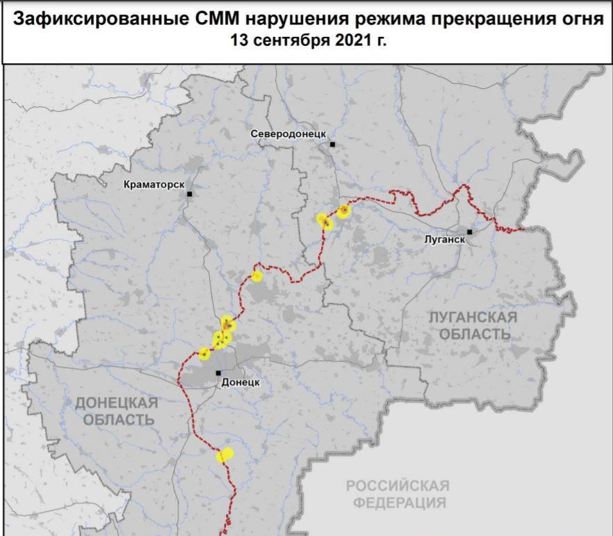 Танки, Грады, пушки. На Донбасс стягивают военную технику РФ (ДОКУМЕНТ) 1