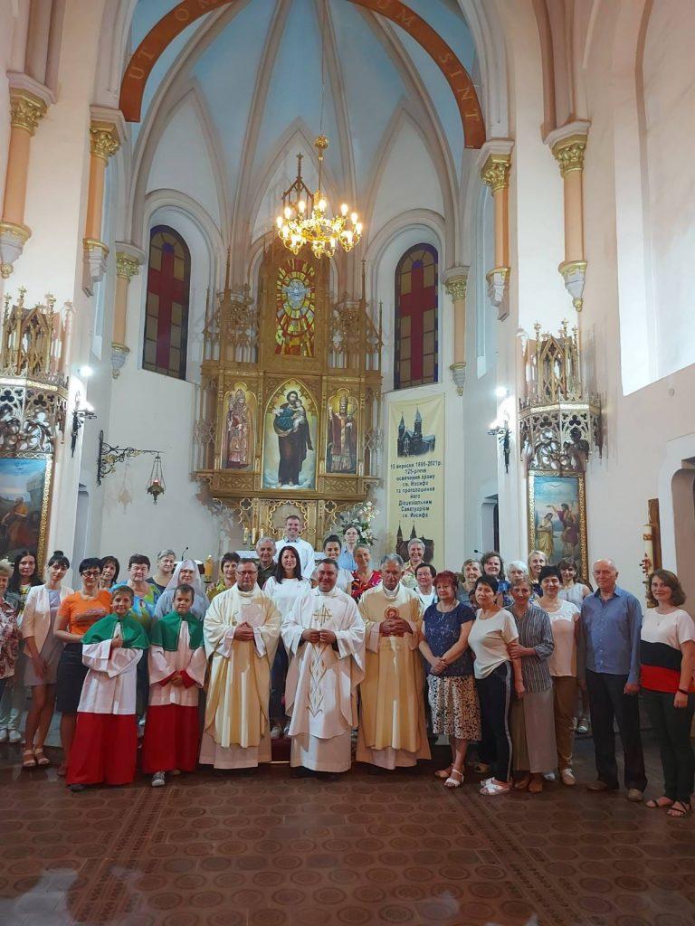 Католический храм в Николаеве, отметивший свое 125-летие, стал санктуарием святого Иосифа (ФОТО) 21