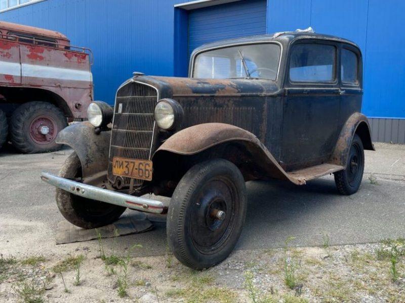Под Киевом в деревянном сарае нашли довоенный Opel . Он прекрасно сохранился (ФОТО, ВИДЕО)