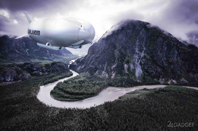 На Северный полюс - с комфортом. Гигантский дирижабль с туристами к полету готов (ФОТО) 17