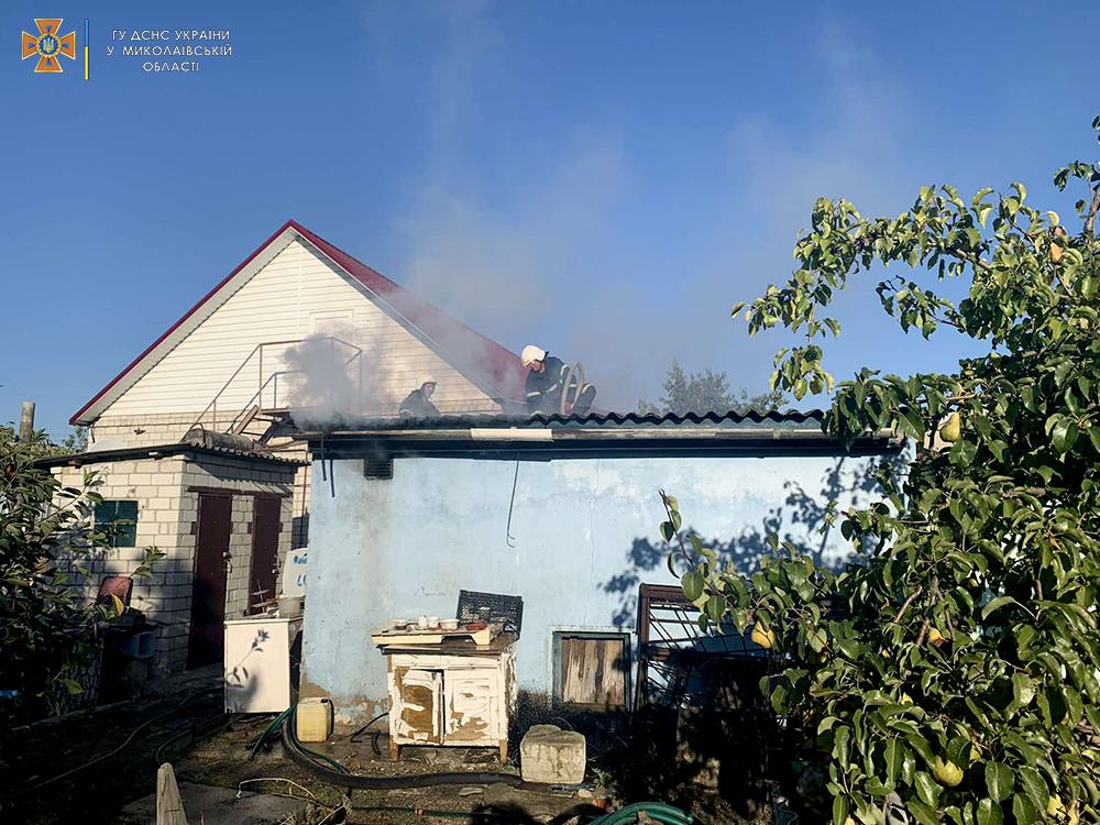 Хозпостройки и более 8 га открытых территорий: что тушили пожарные Николаевщины за сутки (ФОТО) 5