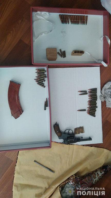 Патроны, корпус гранаты и револьвер: что полиция нашла при обыске у селянина в Николаевском районе (ФОТО) 3