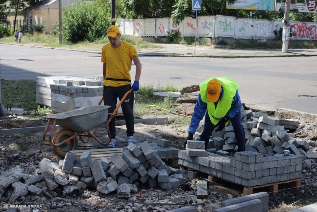 Ко Дню города Николаева с ремонтом бульварной части пр.Центрального у «Дормашины» не успеют (ФОТО) 5