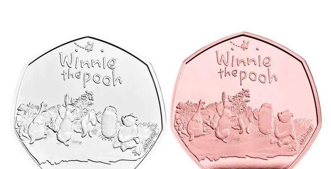 В Британии выпустили серию монет, приуроченную к 95-летию Винни-Пуха и его друзей (ФОТО) 5