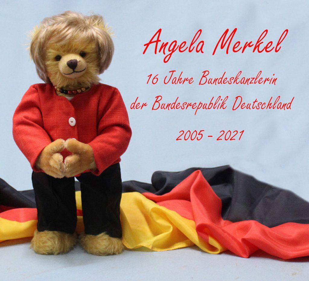 """К отставке канцлера в Германии выпустили плюшевого медведя """"Меркель"""" (ФОТО) 1"""