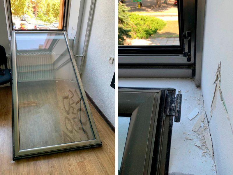 После ремонта: в ОДК Николаева окна в комнатах детских кружков вываливаются из проемов