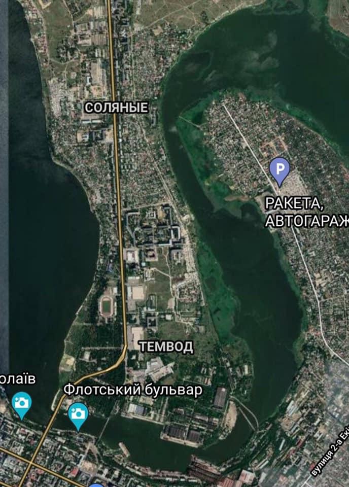 Водники Николаева просят разрешить проход маломерных судов через акваторию НСЗ 1