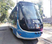 В День города Николаева на маршрут вышел обновленный трамвай (ФОТО, ВИДЕО)