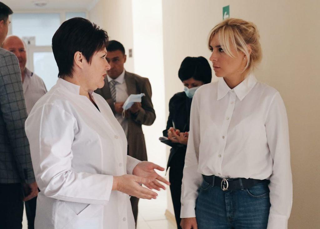 Добудова хоспісу, шкільні їдальні та системи очистки води - Ганна Замазєєва відвідала Баштанський район (ФОТО) 9