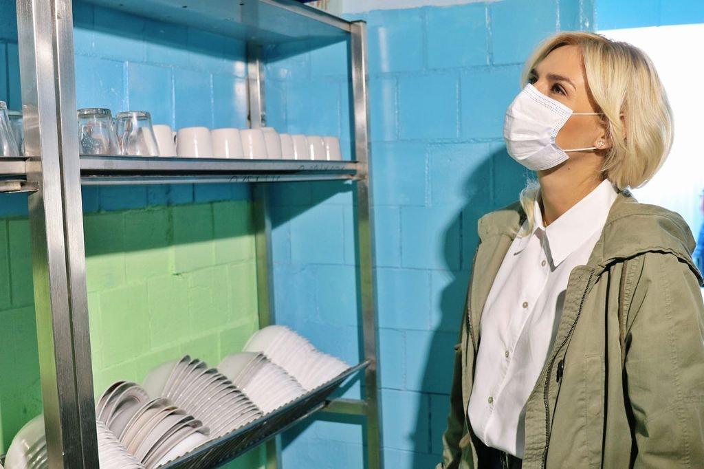 Добудова хоспісу, шкільні їдальні та системи очистки води - Ганна Замазєєва відвідала Баштанський район (ФОТО) 17