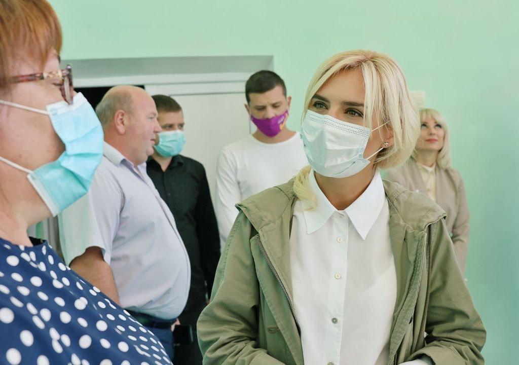 Добудова хоспісу, шкільні їдальні та системи очистки води - Ганна Замазєєва відвідала Баштанський район (ФОТО) 13