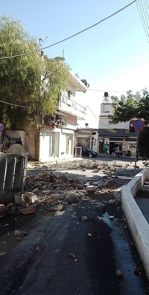 Землетрясение на Крите. Разрушены дома и храмы, есть погибший и раненые (ФОТО, ВИДЕО) 2