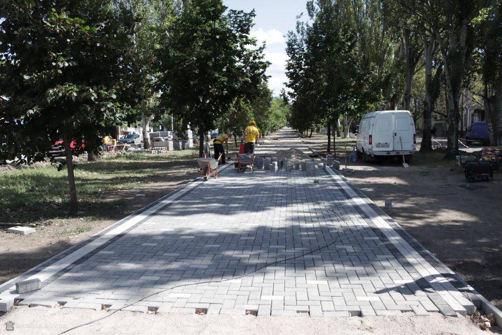 Ко Дню города Николаева с ремонтом бульварной части пр.Центрального у «Дормашины» не успеют (ФОТО) 7