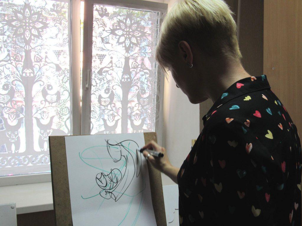 В николаевской «Етносвітлиці» открылась персональная выставка художницы Екатерины Баранюк (ФОТО) 5