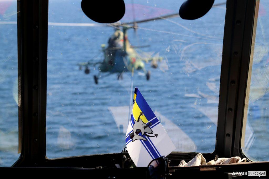 Николаевские морские авиаторы нанесли огневой удар в акватории Черного моря (ФОТО, ВИДЕО) 5