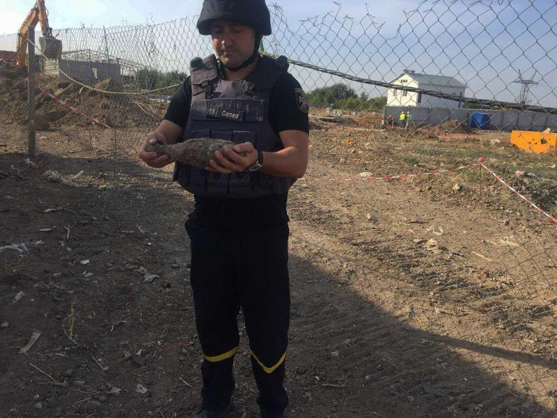 В Николаеве нашли мину, а в реке у Ковалевки - артснаряд (ФОТО) 5