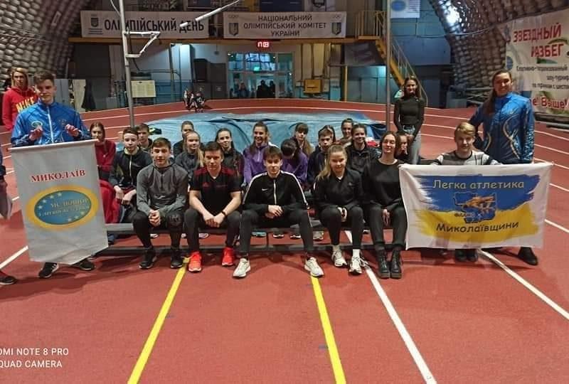 Николаевская СДЮСШОР по легкой атлетике стала лучшей среди спортшкол на чемпионате Украины (ФОТО)