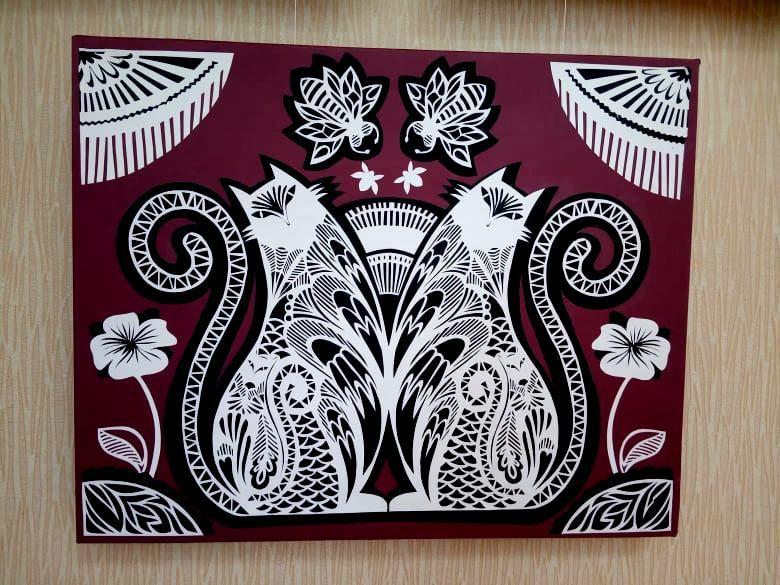 В николаевской «Етносвітлиці» открылась персональная выставка художницы Екатерины Баранюк (ФОТО) 7