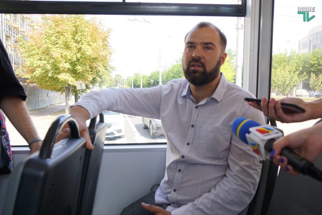 В День города Николаева на маршрут вышел обновленный трамвай (ФОТО, ВИДЕО) 11