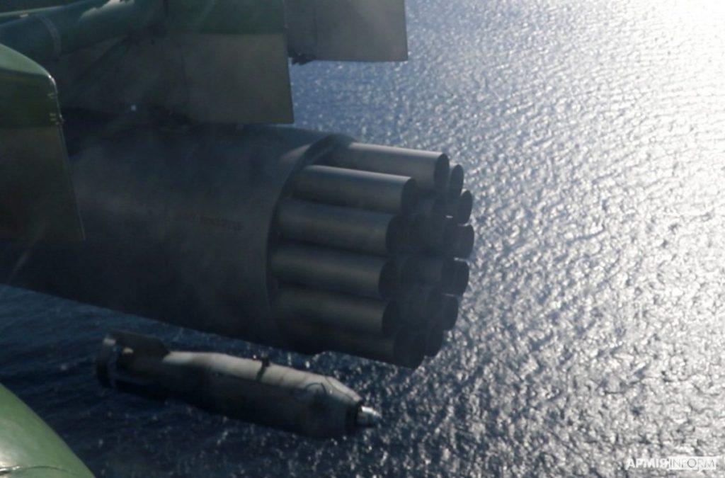 Николаевские морские авиаторы нанесли огневой удар в акватории Черного моря (ФОТО, ВИДЕО) 7