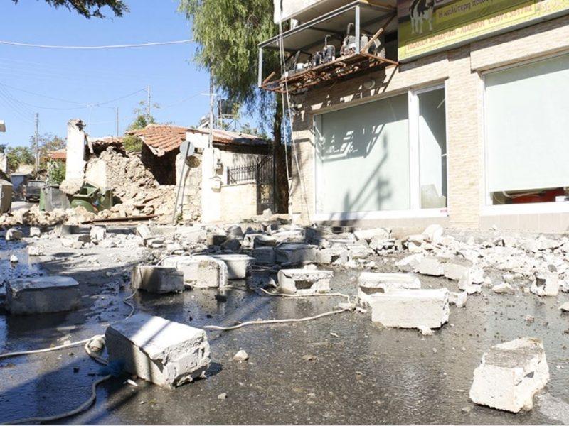 Землетрясение на Крите. Разрушены дома и храмы, есть погибший и раненые (ФОТО, ВИДЕО)