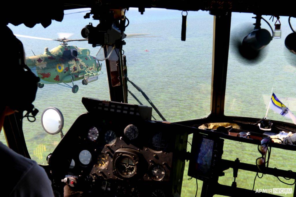 Николаевские морские авиаторы нанесли огневой удар в акватории Черного моря (ФОТО, ВИДЕО) 9
