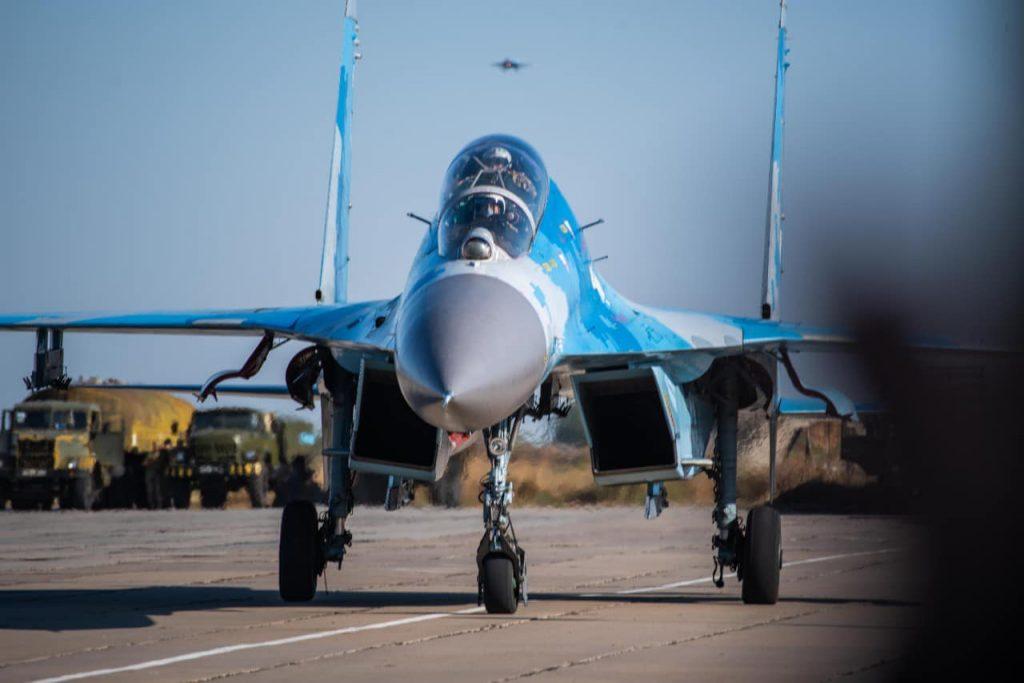 На Николаевщине авиаторы провели практические пуски авиационных управляемых ракет класса «воздух-воздух» (ФОТО) 11