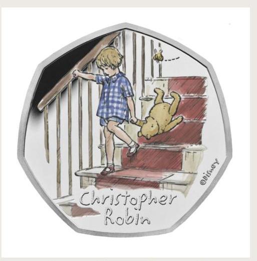 В Британии выпустили серию монет, приуроченную к 95-летию Винни-Пуха и его друзей (ФОТО) 1