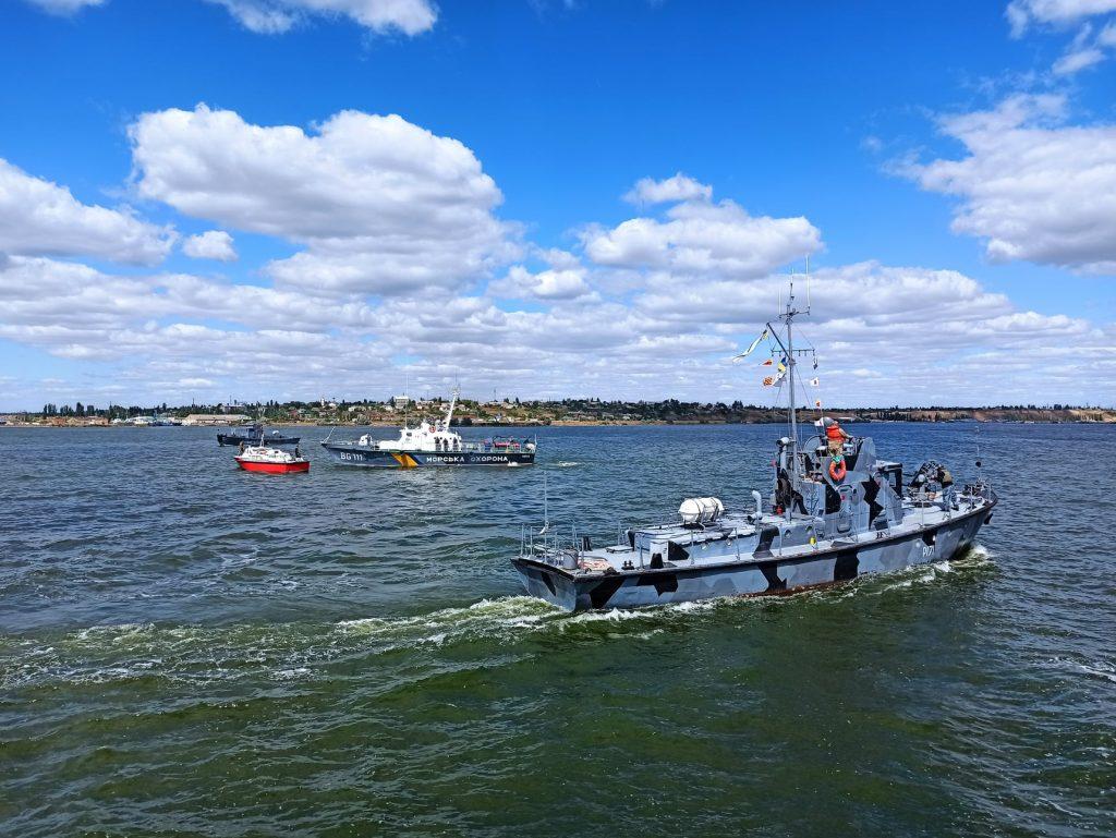 На Николаевщине прошли учения ВМС по охране пунктов базирования (ФОТО) 11