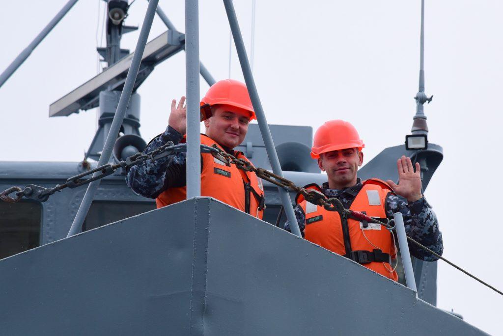 Тральщик «Геническ» после докового ремонта покинул Николаевский судостроительный завод (ФОТО) 9