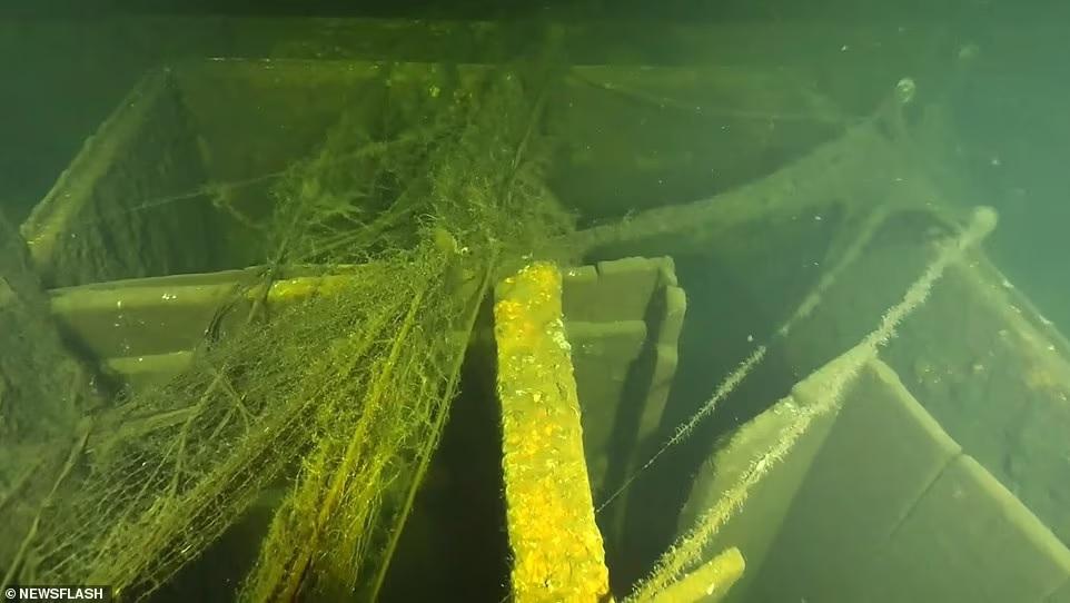 След Янтарной комнаты? Польские дайверы начинают исследование затонувшего в 1945 году немецкого корабля «Карлсруэ» (ФОТО) 7