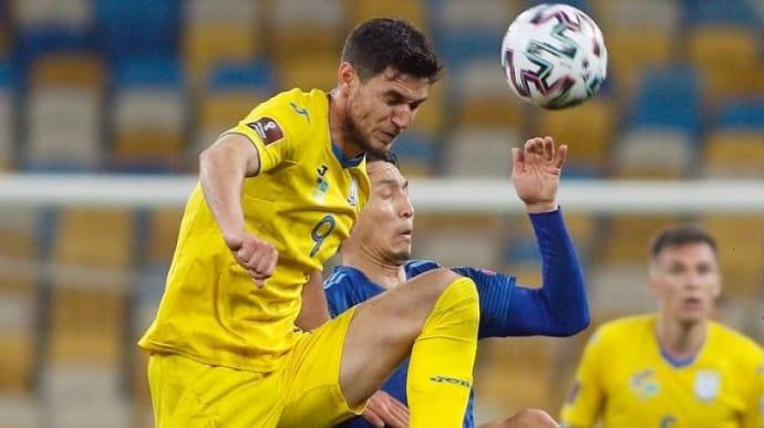 Отбор ЧМ-2022: досадная ничья в матче Украины с Казахстаном