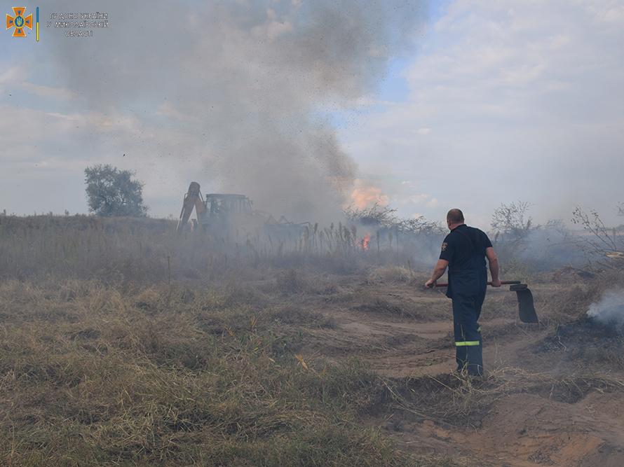 Возле Мешково-Погорелово выгорело почти 5 га (ФОТО) 11