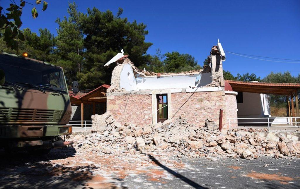 Землетрясение на Крите. Разрушены дома и храмы, есть погибший и раненые (ФОТО, ВИДЕО) 6
