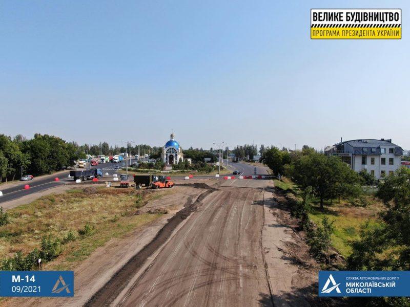 Начался ремонт подъездных дорог к Николаеву. Закончится не скоро (ФОТО)