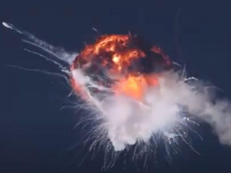 Украинско-американская компания Firefly Aerospace запустила космическую ракету Alpha и взорвала ее — что-то пошло не так (ВИДЕО)