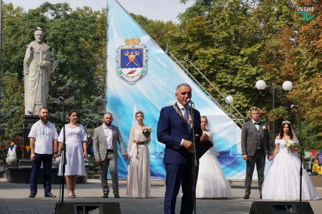 232-й день рождения Николаева: поздравление молодоженов, выставка-ярмарка и очень мало празднующих (ФОТО, ВИДЕО) 15