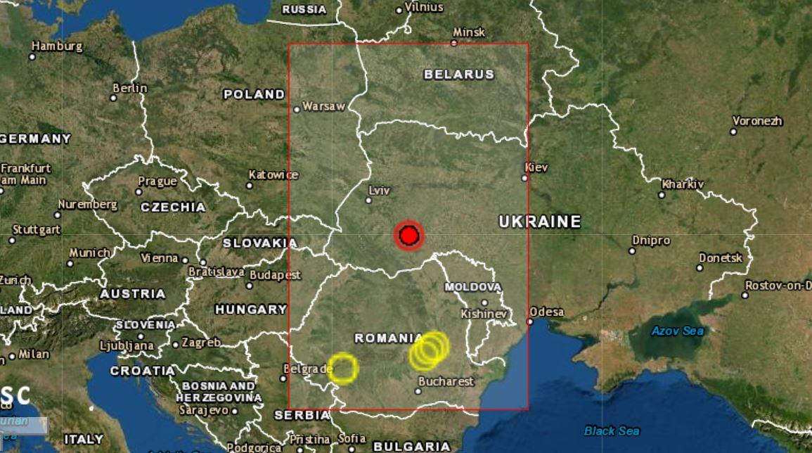Жители Западной Украины рассказали, как пережили сегодня землетрясение (ВИДЕО) 1