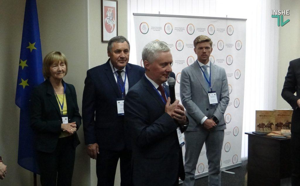 Почетным Консулом Литвы в Николаеве стал президент агрохолдинга «Agrofusion» Сергей Сыпко (ФОТО и ВИДЕО) 9