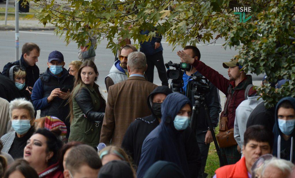"В Николаеве у суда конфликтовали работники НГЗ и активисты ""Стоп шлама"" (ФОТО и ВИДЕО) 43"