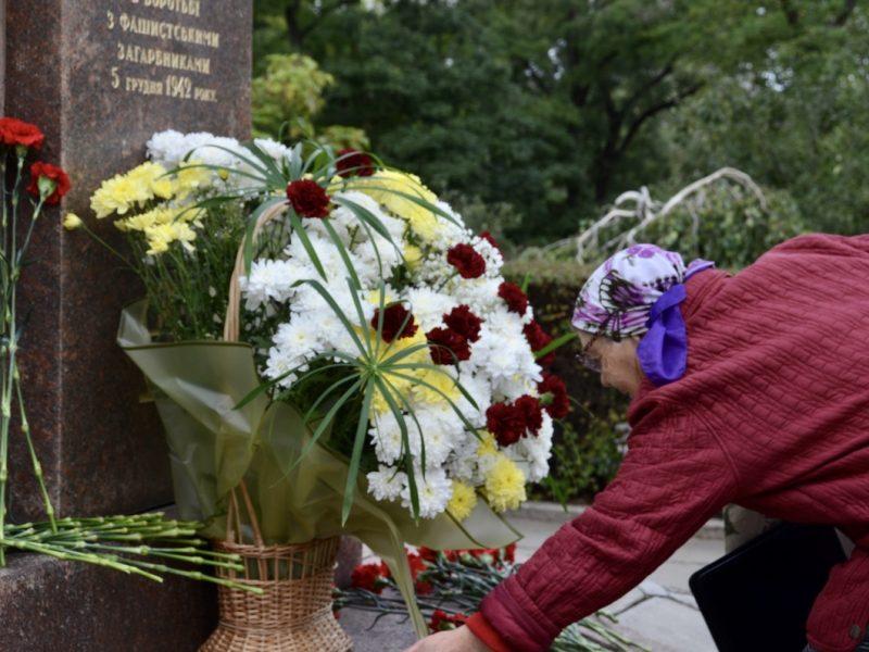 В День партизанской славы в Николаеве вспоминали подпольщиков и пионеров-героев (ФОТО, ВИДЕО)