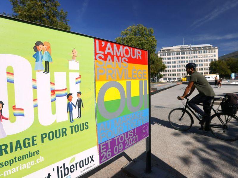 Швейцария на референдуме поддержала легализацию однополых браков