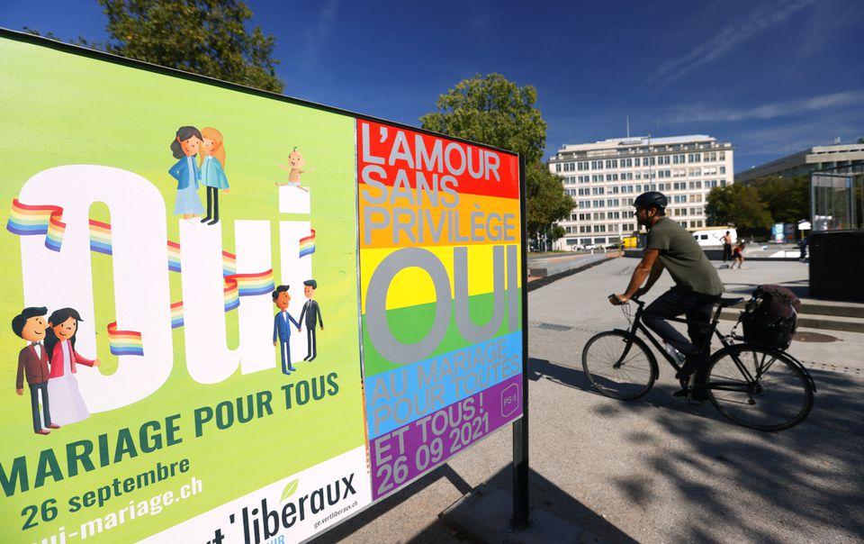 Швейцария на референдуме поддержала легализацию однополых браков 5