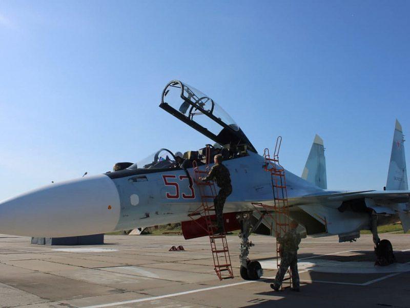 РФ перебросила истребители в Беларусь, на 320 км от Киева — охранять «союзное государство» (ФОТО)