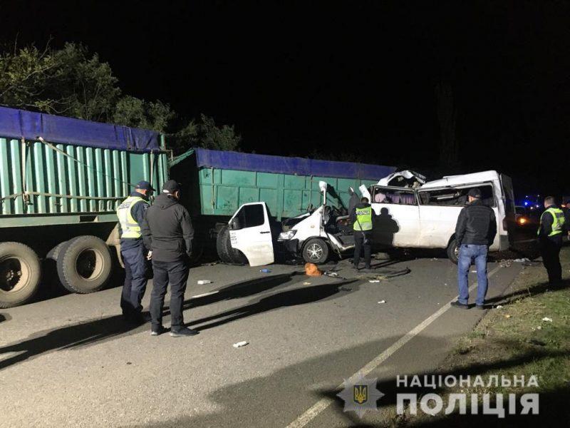 Тройное ДТП на Николаевщине — 4 погибших, 7 травмированных (ФОТО, ВИДЕО)